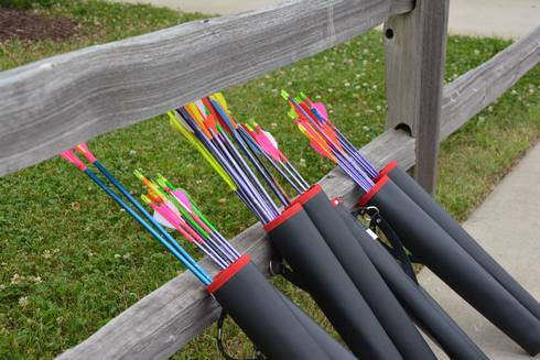 Quivers are required pieces of equipment in 4-H Shooting Sports, and can make good gifts for the holidays.