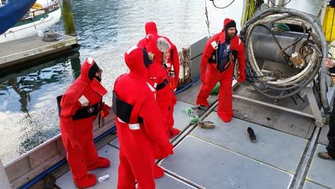 Drill Conductor Training For Great Lakes Commercial Fishing Vessel