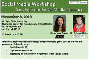 Interactive social media workshop emphasizes methods to grow your social media presence