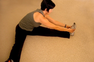Flexibility exercises to do during television commercials