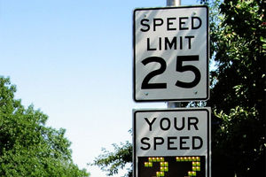 MSU receives $201K grant from Michigan Department of Transportation to conduct research on speed feedback signs