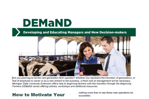 "Bulletin E-3407: How to Motivate Your Lender to Say, ""Yes"""