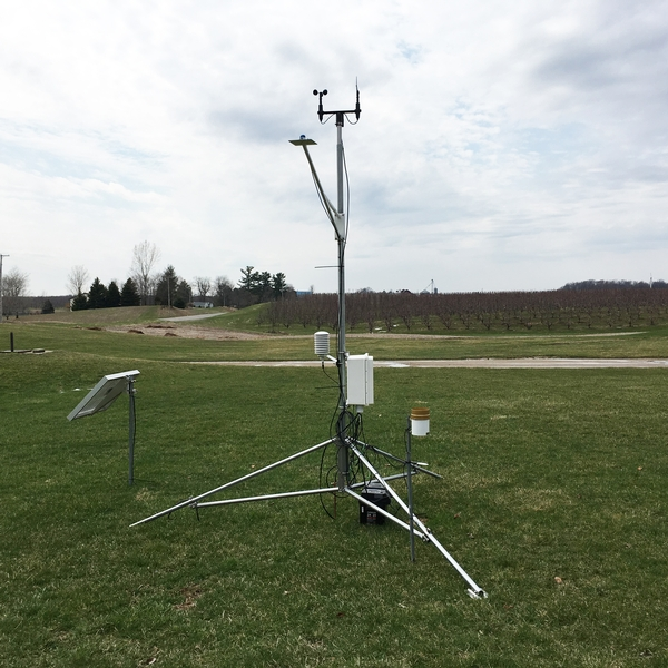 New Enviroweather station