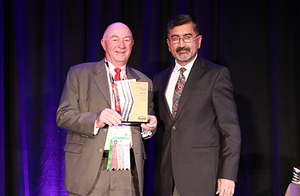 MSU Construction Management alumnus Al Scott receives Outstanding Industry Advisory Board Member Award