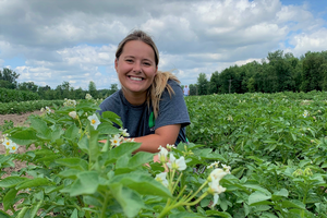 Recent MSU crop and soil sciences grad pursues her Ph.D. at MSU