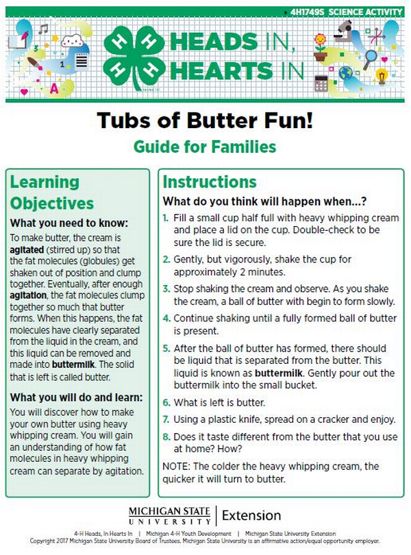 Tubs of Butter Fun! cover page.