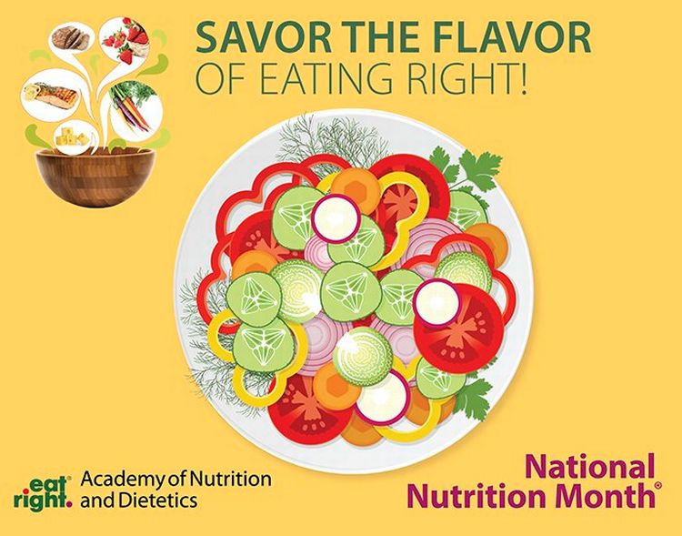 Celebrate National Nutrition Month In Your Community Msu Extension