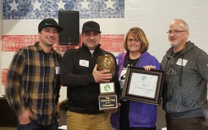 Inaugural Michigan Chinook Cup awarded