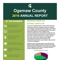 Ogemaw County 2019 Annual Report Cover