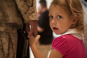 One of the unique challenges faced by military families is having service members deploy. Photo credit: Pixabay.