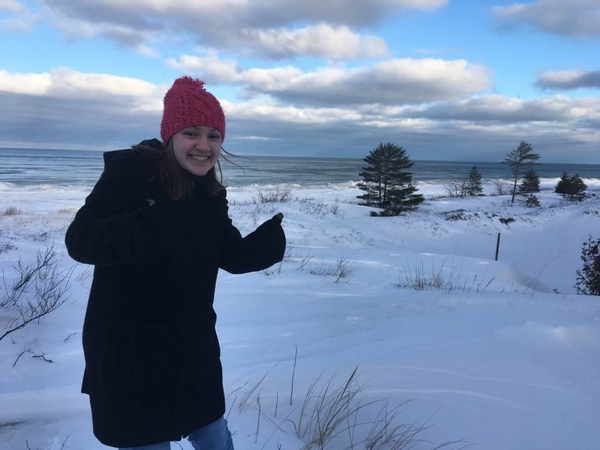 MSU graduate Olivia Rose is one of 30 Huron Pines AmeriCorps members newly serving with conservation stewardship agencies and organizations across Michigan this year. Courtesy photo