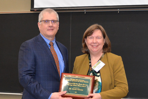 CANR faculty member Diane Fischer honored for commitment to students