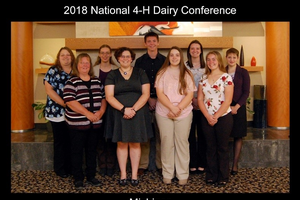 Michigan youth and volunteers attend National 4-H Dairy Conference