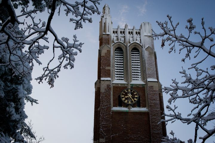 Beaumont Tower on Michigan State University's campus. Photo courtesy of MSU.