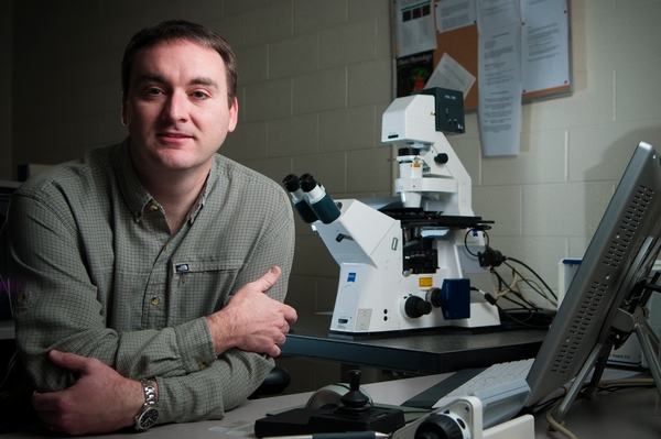 MSU researcher Brad Day