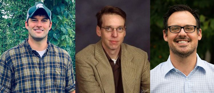 Three MSU professors.