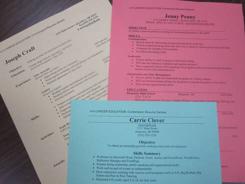 use action verbs to get your résumé noticed msu extension