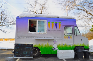 Purple Carrot is a Lansing area business that started as a food truck. | Photo by Diane Smith, Michigan State University Extension