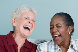 No amount of running or other exercise massages our insides and settles or resets our mood the way laughter does.