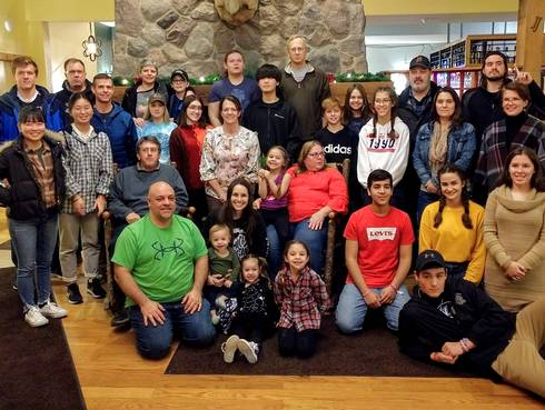 2019 Michigan host families and delegates