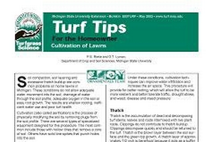 Cultivation of Lawns (E0003TURF)