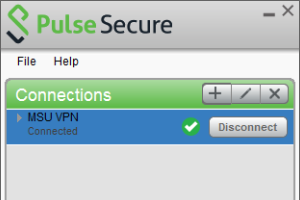 Using the MSU Virtual Private Network - VPN
