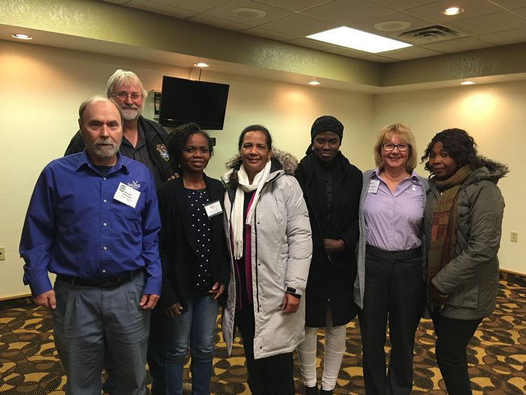 Representatives from Nigeria attended the Seafood HACCP course in Michigan to learn how to deal with food safety hazards in smoked fish production. Photo: Michigan Department of Agriculture and Rural Development