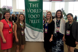 Be the change: Youth leaders tackling global food security