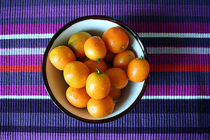 A plate of kumquats. | Photo by Flickr user Ana Campos