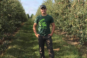 Undergraduate Denny Alt talks about why he chose to study crop and soil sciences