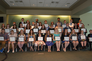 2019 Senior 4-H State Award Winners. All photos by Michigan State University Extension.