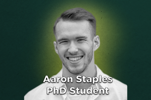 Grad Spotlight: Aaron Staples