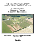 2010 Michigan Potato Research Report