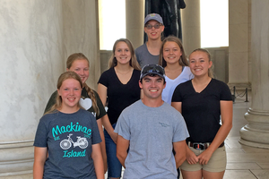 Michigan youth travel to Maryland State Fair to refine dairy cattle judging skills