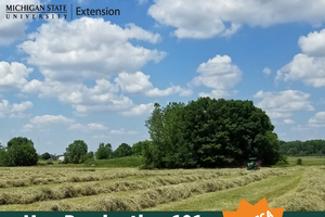 MSU Extension announces new online school for hay growers: Hay Production 101