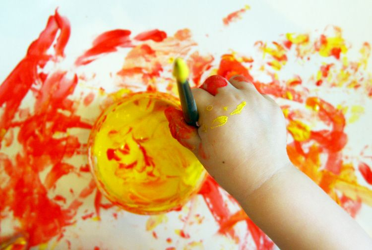 Support your child's artistic journey with these tips. Photo credit: Lenchensmama | MSU Extension