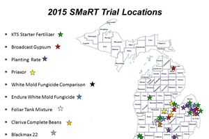 2015 SMaRT on-farm research report is available