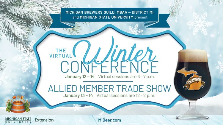 Winter Conference banner for display purposes