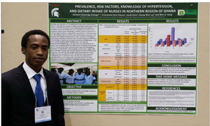 FSHN BHEARD scholar Clement Kubreziga Kubuga attended the Experimental Biology Annual Conference in Boston.