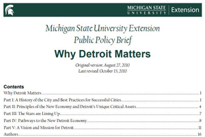 Why Detroit Matters cover