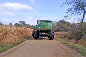 When seconds count: Respectfully share the road during fall harvest
