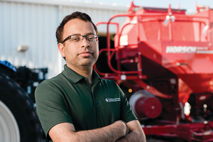 Maninder Singh, an assistant professor in the Department of Plant, Soil and Microbial Sciences, has received funding from both Project GREEEN and M-AAA for a new project. He is seeking to improve the management of ear rot and fungal contamination of corn silage, a valuable feedstuff for cattle, swine and poultry. Contamination can result in health challenges for these animals.