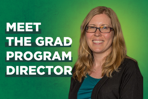 Grad Program Director Spotlight: Nicole Mason-Wardell