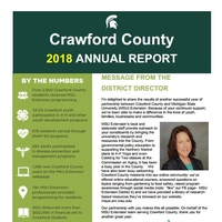 Crawford County Annual Report 2018 Cover