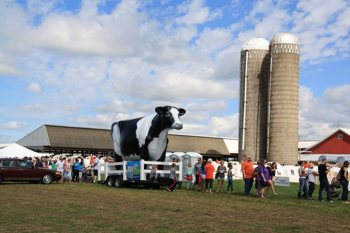 2017 Breakfast on the Farm, Ottawa County on June 24, 2017, J&J Dairy, Marne, MI. (Photo by Mindy Tape, MSU Extension)