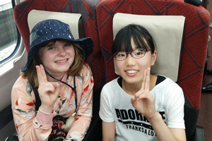 12-year-old youth travels to Japan on exchange