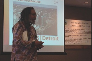 Malik Yakini, Executive Director of the Detroit Black Community Food Security Network, developing the coalition.