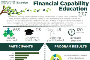 cover of financial capability education impact report