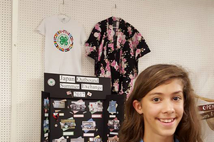 4-H youth shares her experience in Japan