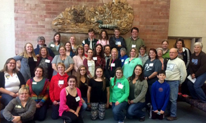 4-H advisory group volunteers and staff
